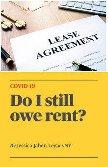COVID-19 - Do I Still Owe Rent?