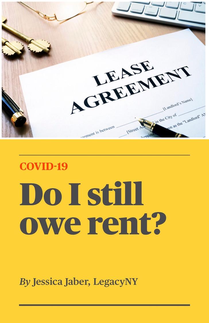 COVID-19 - Do I Still Owe Rent?