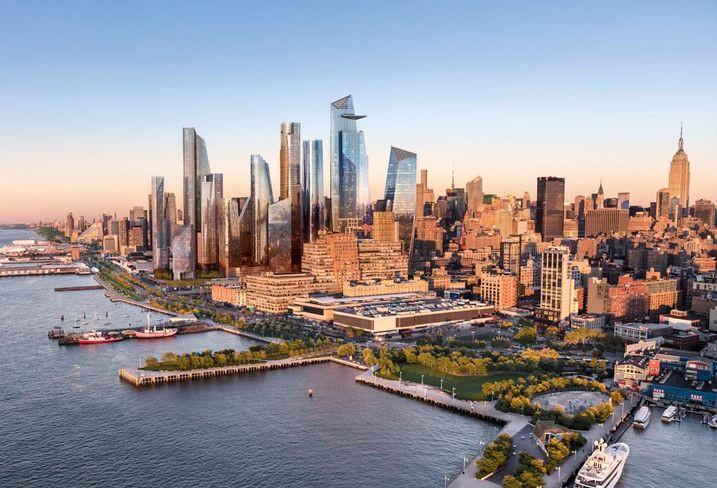 Hudson Yards in Manhattan