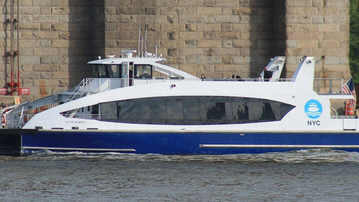 Ferry to Brooklyn Navy Yard Opening May 20th
