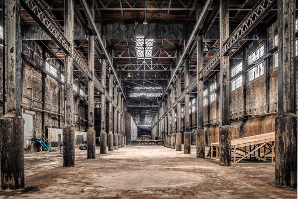 See the Last Photographs of the Abandoned Domino Sugar Factory