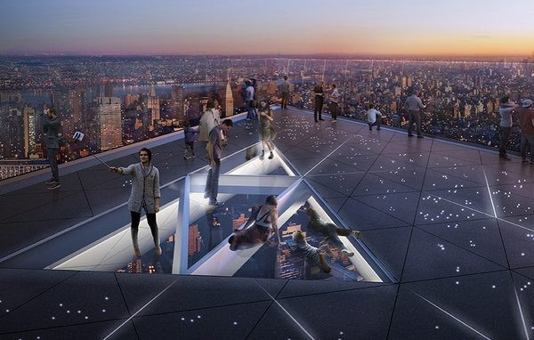 See Dizzying New Renderings of 30 Hudson Yards' Outdoor Observation Deck, the Highest in NYC.