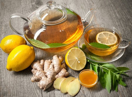 GLOBU Health: Detoxen met gember, citroen en groene thee
