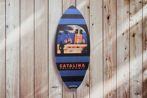 Steamer Greeting Mini Surf Board