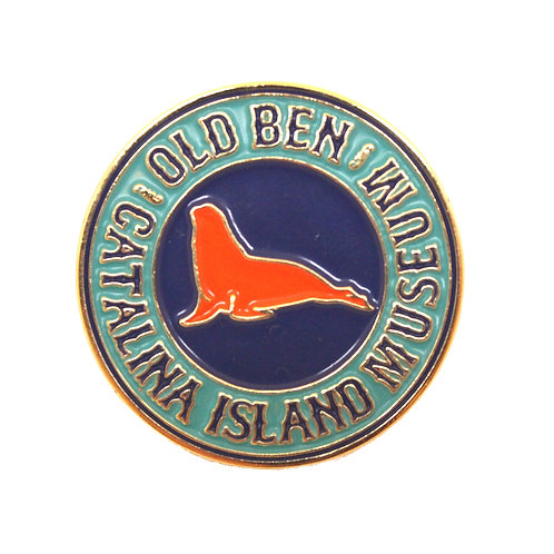 Old Ben Enamel Pin