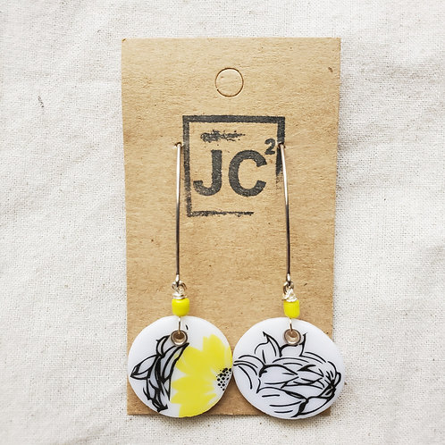 JC² Glass Art Earrings No. 2