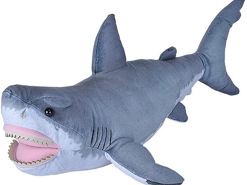 Living Ocean Great White Shark Plush