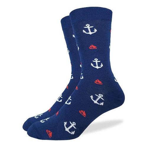 Anchors and Boats Socks