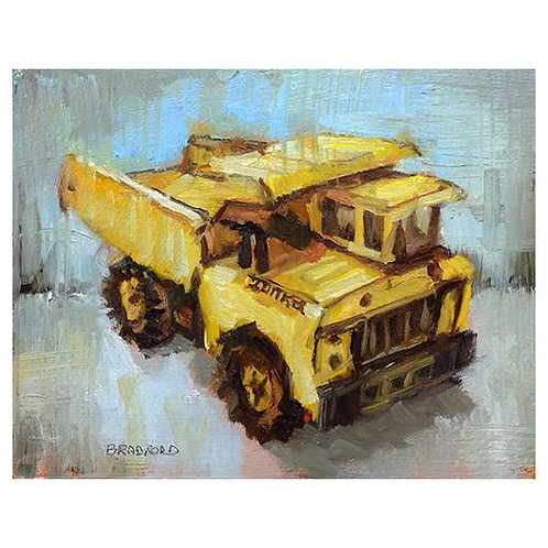 Mustard Tonka by Bradford J. Salamon