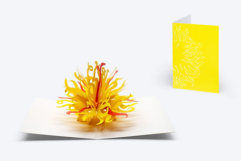 Chihuly Pop-Up Card