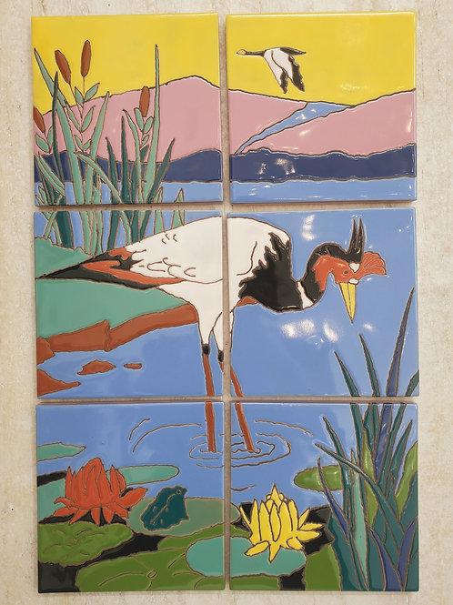 Catalina Crane Bird Park Mural Reproduction