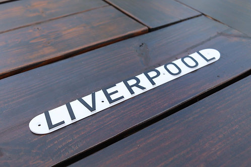 """Liverpool"" Lifeboat Plaque"