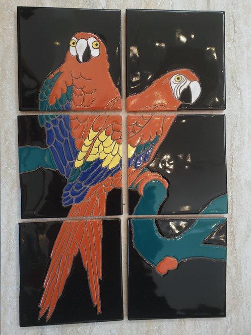 Catalina Parrot Bird Park Mural Reproduction