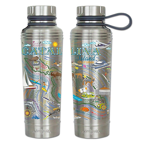 Catalina Geography Thermal Bottle