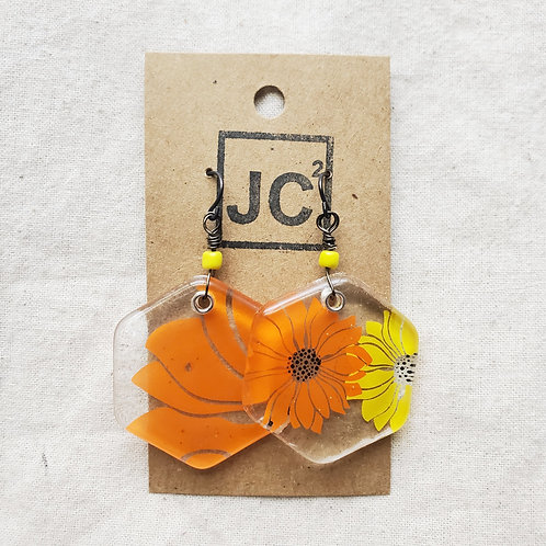 JC² Glass Art Earrings No. 9