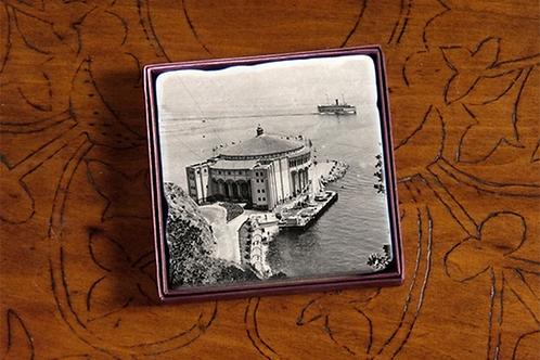1929 Casino Marble Coaster