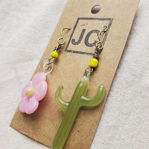 JC² Glass Art Earrings No. 12