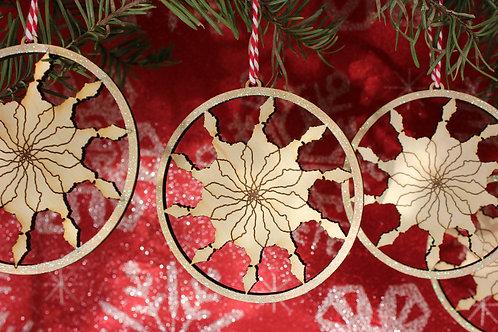 Catalina Snowflake Ornament Set