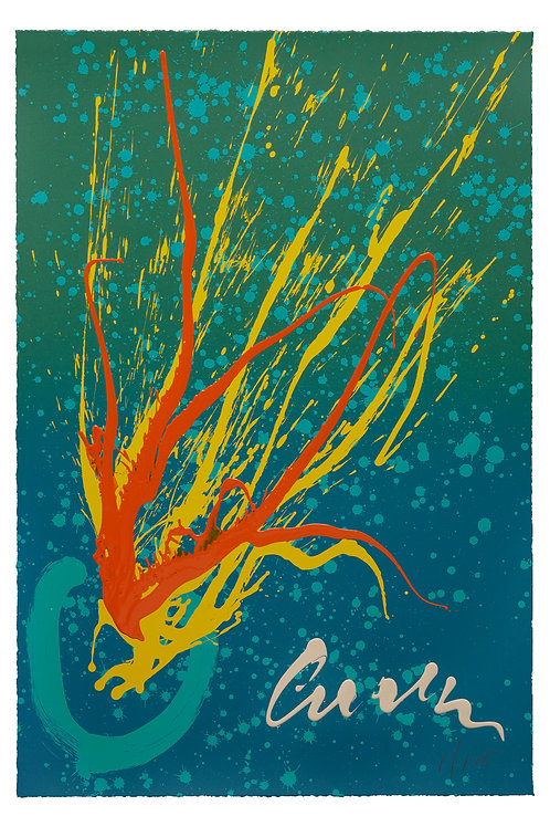 Midsummer Splash Serigraph
