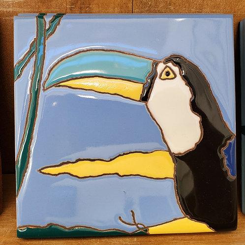 Single Toucan Tile