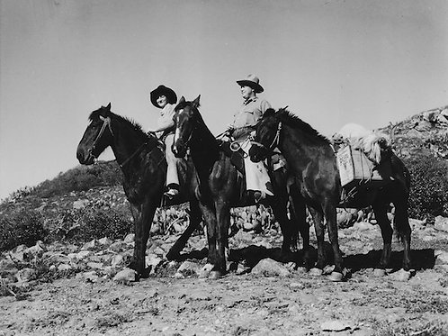 Catalina Cowboys Vintage Photo No. 001