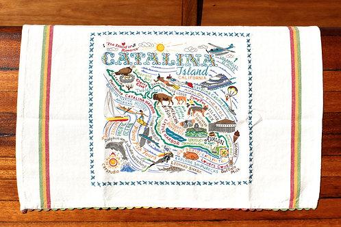 Catalina Island Tea Towel