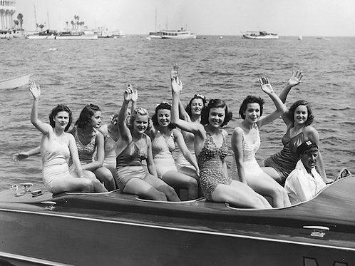 Miss Catalina Vintage Photo