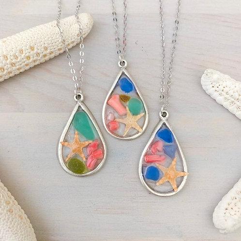 Ocean Mosaic Necklace