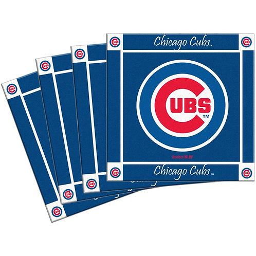 Cubs Ceramic Coaster Set of 4