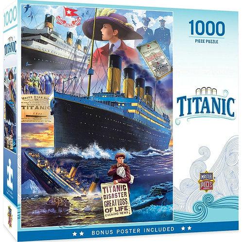 Titanic Collage 1000-piece Puzzle