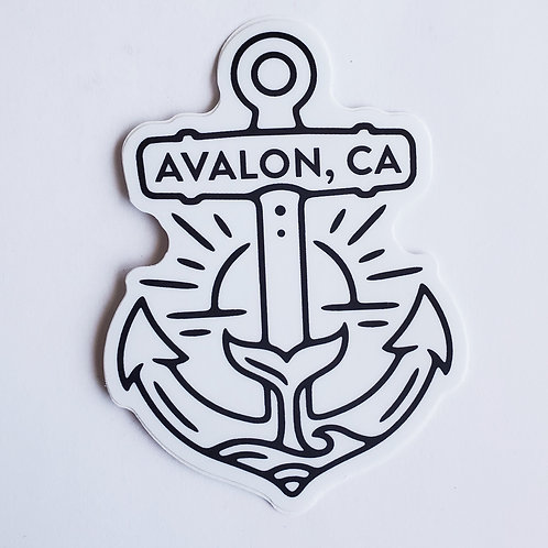 Avalon Anchor Sticker