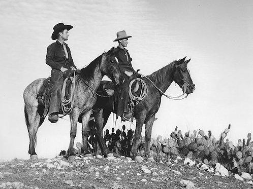 Catalina Cowboys Vintage Photo No. 004