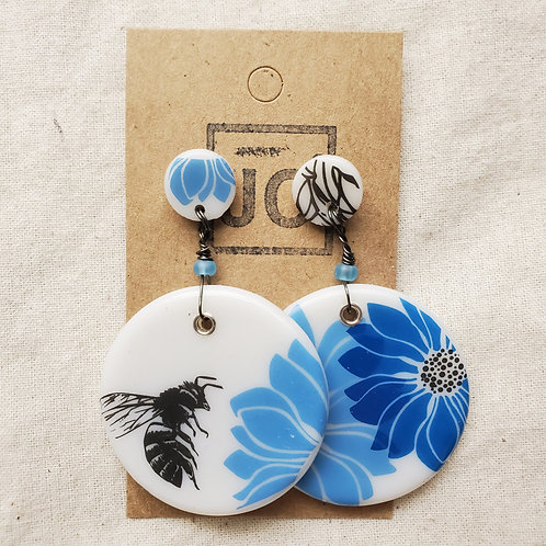 JC² Glass Art Earrings No. 4
