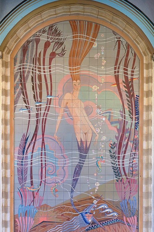 Casino Mermaid Large Format Print