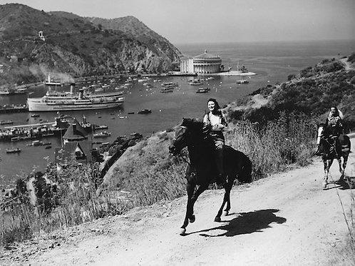 Catalina Equestrians Vintage Photo No. 017