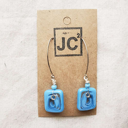 JC² Glass Art Earrings No. 6