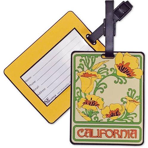CA Poppy Luggage Tag