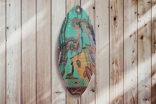 Beckman Lobster Mini Surfboard