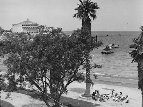 By the Beach Vintage Photo No. 013