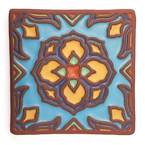 6X6 Topanga Lotus Sky Tile