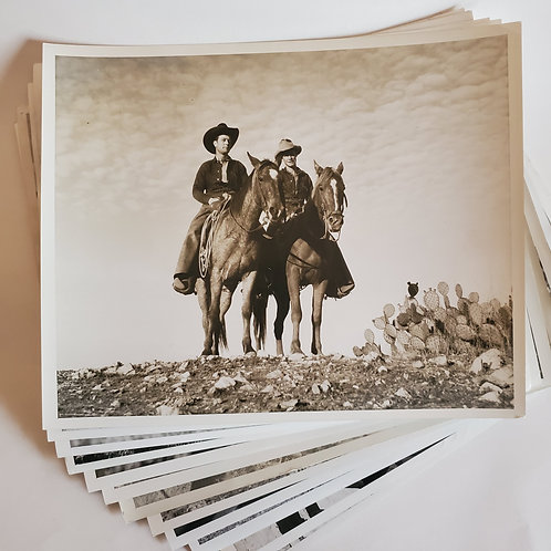 Vintage Photo Bundle: Cowboys & Equestrians
