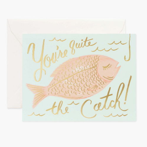 You're quite the Catch! Notecard