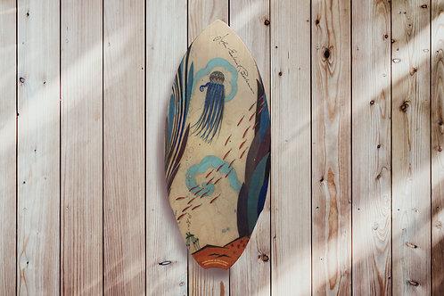 Beckman Jellyfish Mini Surfboard