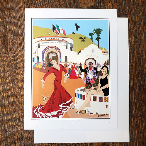 El Encanto Dancer Notecard