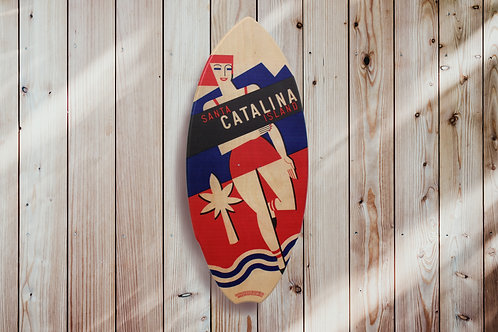 Catalina Style Mini Surfboard