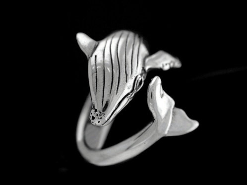 Large Humpback Whale Ring