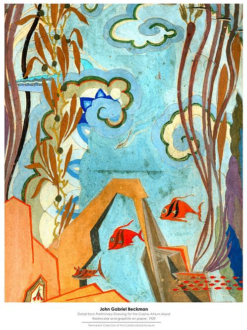 John Gabriel Beckman Poster, Garibaldi