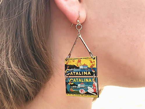 No Trip Like This Wooden Earrings