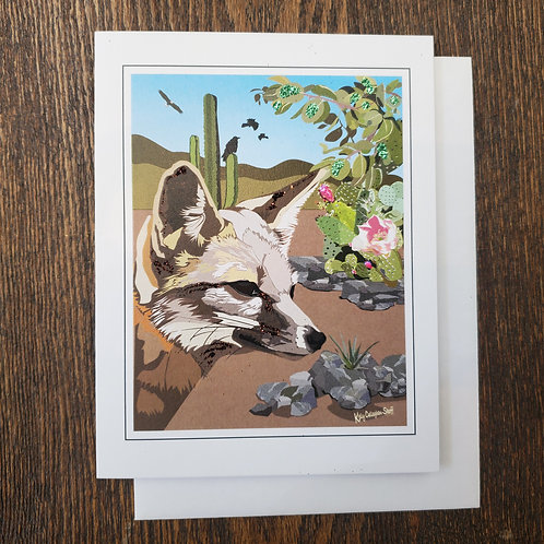 Catalina Fox Notecard