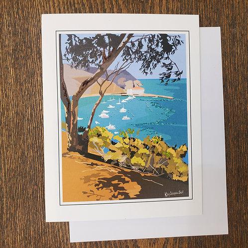 Avalon Bay Notecard